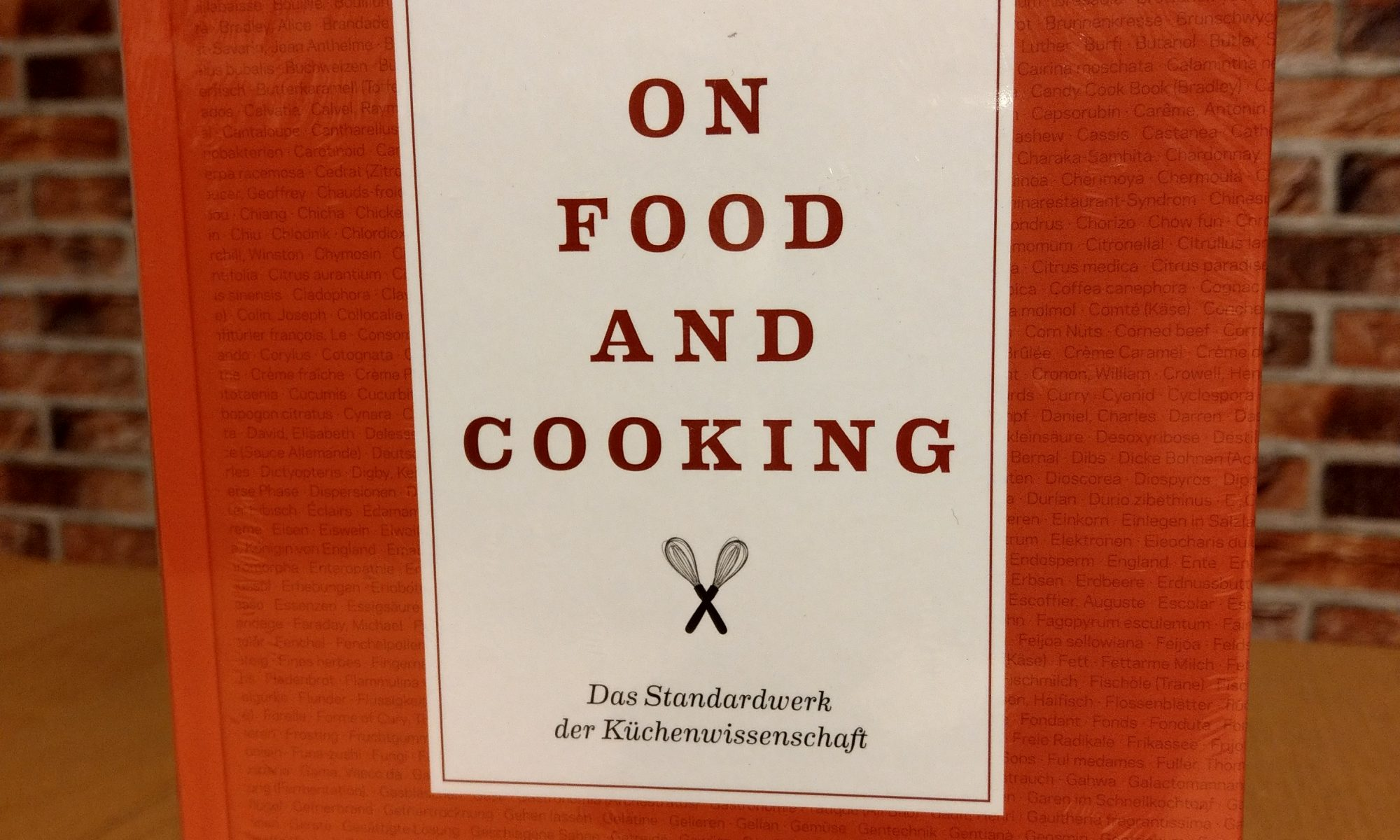 Kochbuch: On Food and Cooking